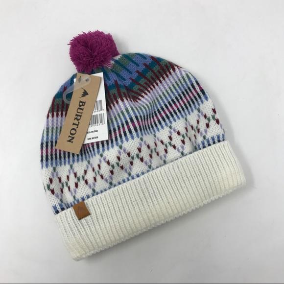 Burton Talini Beanie Knit Hat One size NEW HA1 87e1aa38f